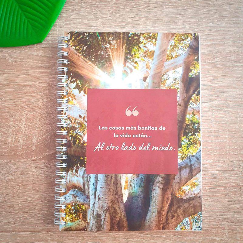 Cuaderno A5 Al otro lado del Miedo